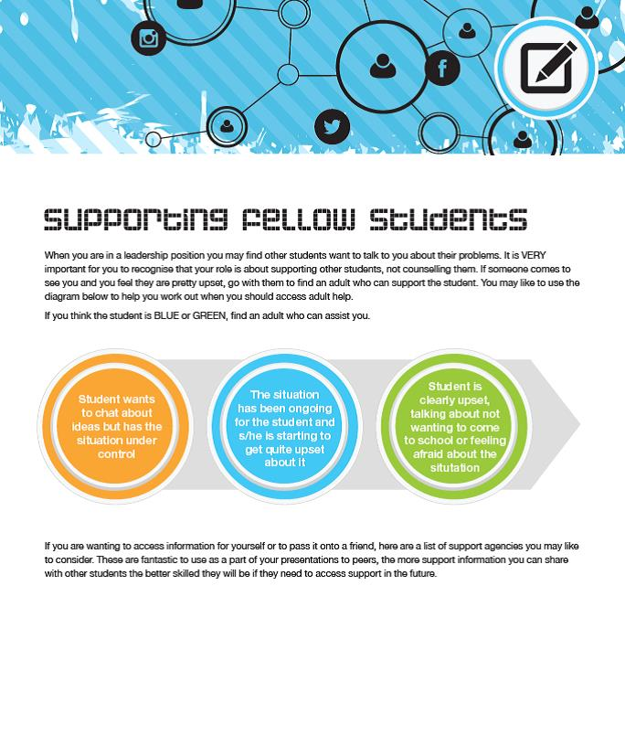 Supporting fellow students download